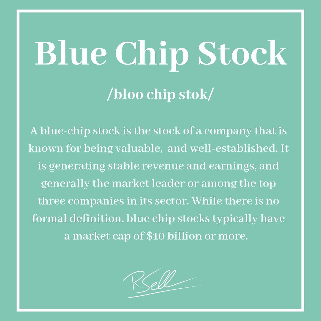 Done right, investing has little in common with gambling. But the term blue-chip stock does borrow…