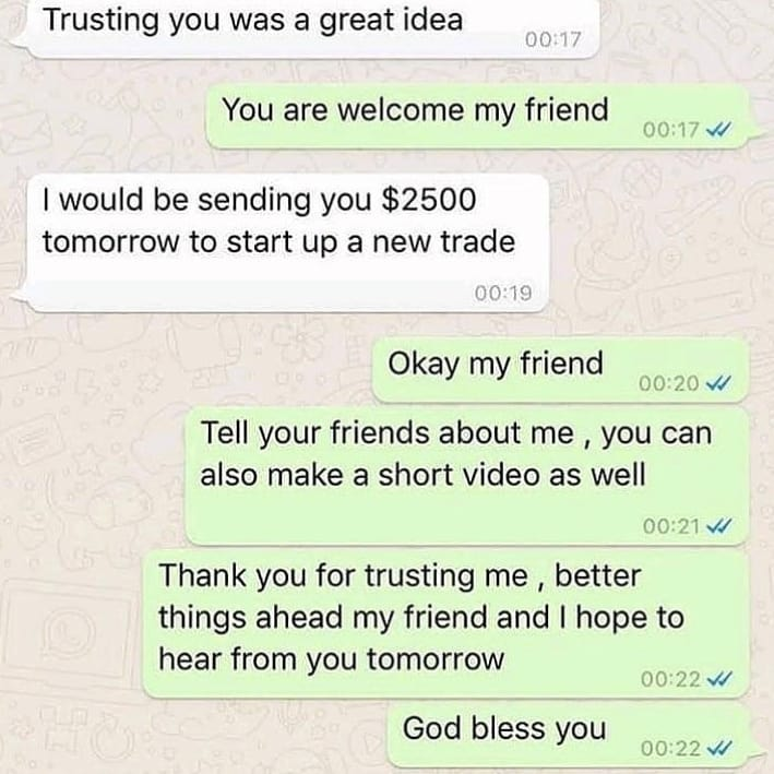 Testimony from clientinvest money entrepreneur wealth business bitcoin success investment s…