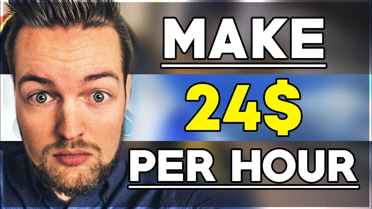 How To Make 24 Per Hour Just By Typing Try this