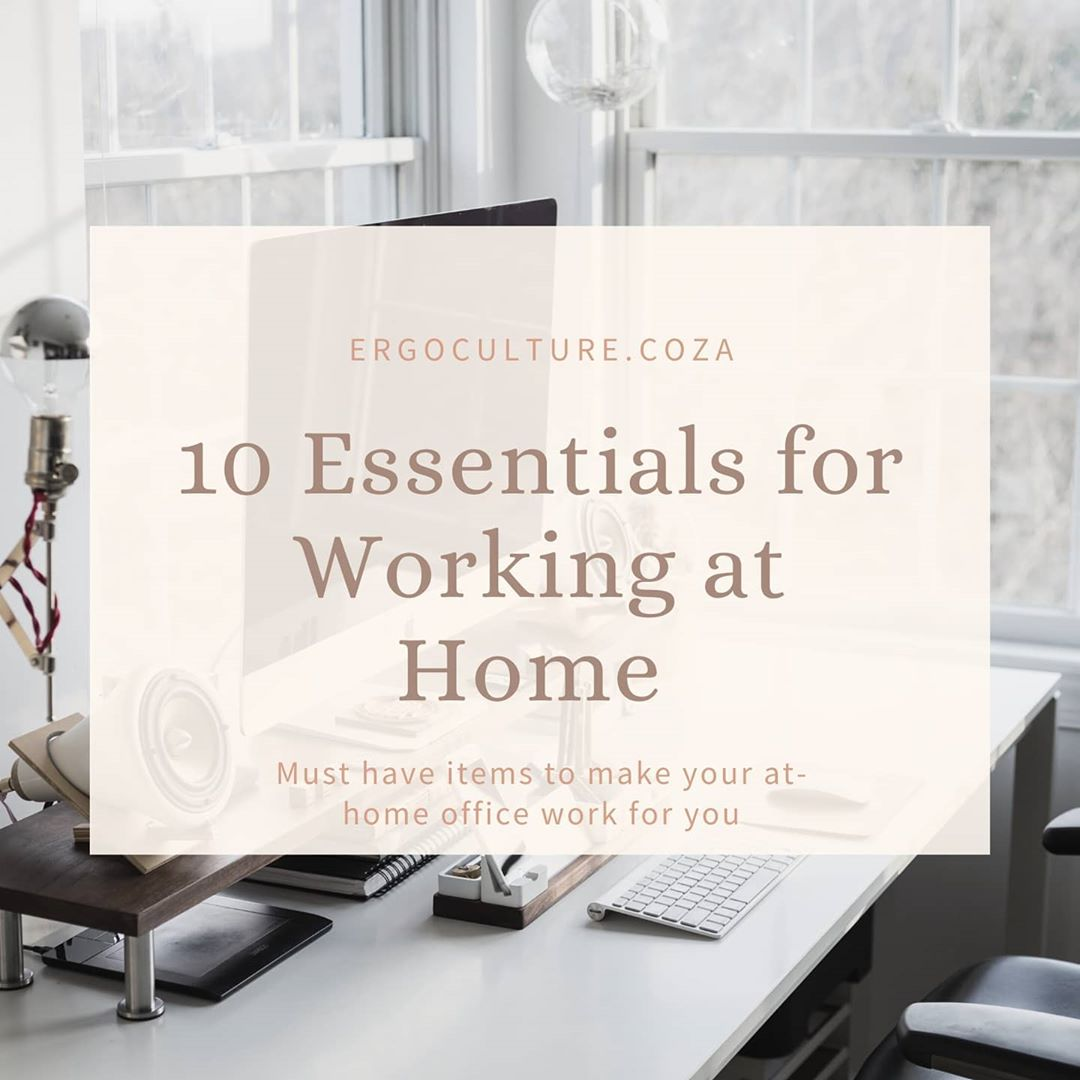 Whether you are newly working from home or always have been, these are a few essential items to make…