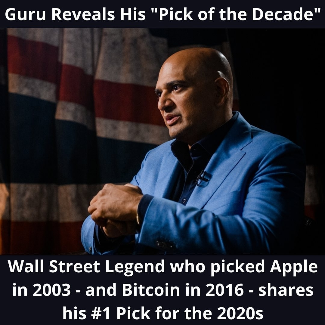 Wall Street Legend who picked Apple in 2003 – and Bitcoin in 2016 – shares his 1 Pick for the 2020…