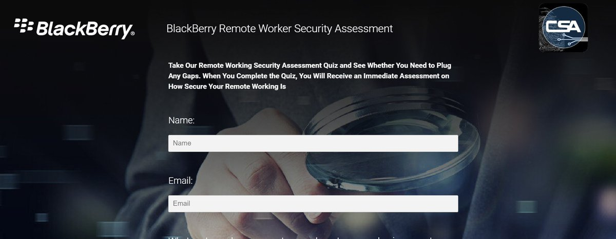 REMOTE WORKING CYBER SECURITY ASSESSMENT.Take this 3-minute assessment for immediate feedback on your staffs remote working and work from home cybersecurity.cybersecurity WorkFromHome