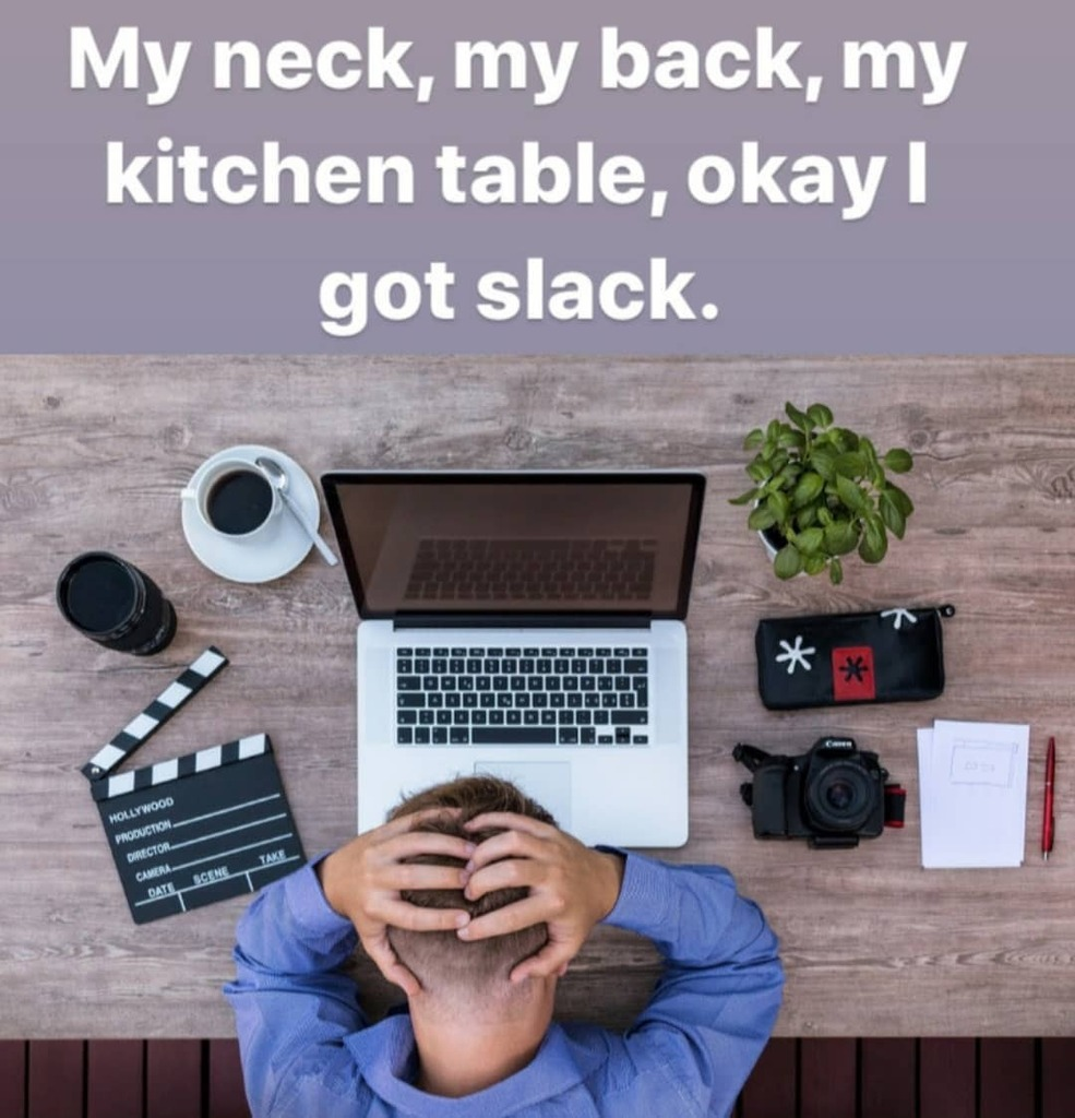 Have you been experiencing neck or back pain related to your home workstation set up and sedentary work practices If so, book in with one of our physios for a thorough assessment and treatment plan._workfromhome ergonomics covid19