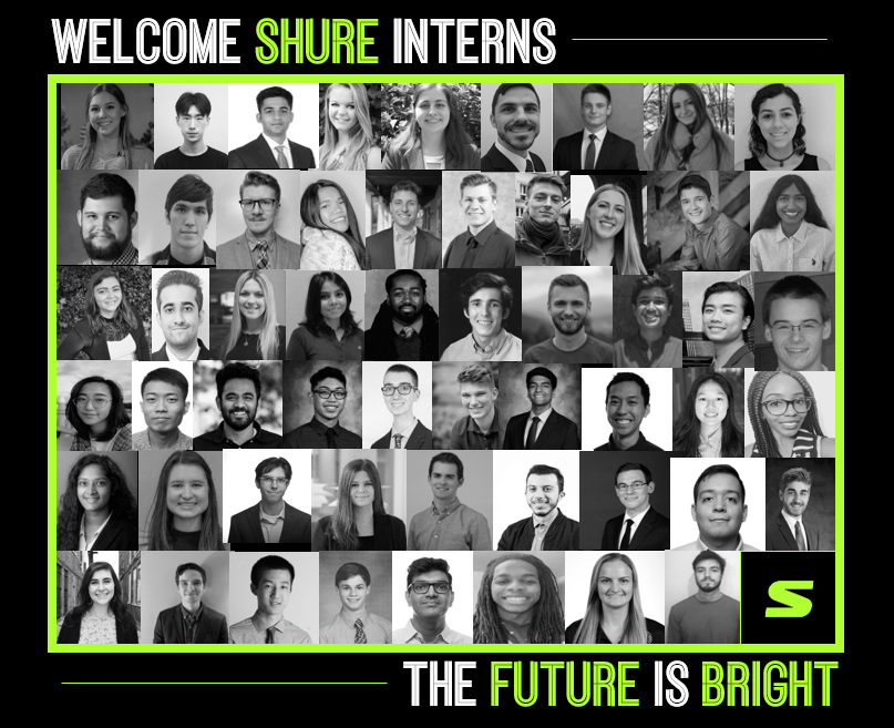 We are excited to welcome our 2020 class of internsvirtually Our team is looking forward to a summer of learning, networking, and FUN ShureInternships WorkFromHome TeamShure